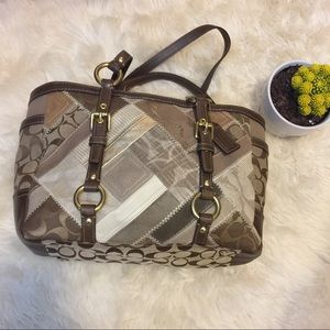 Coach Patchwork Tote